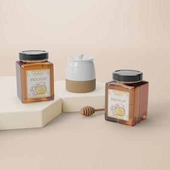 Natuurlijk honingproduct