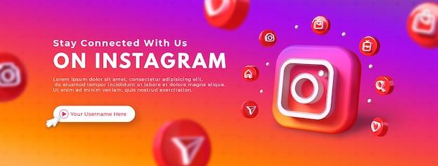 Neem contact met ons op bedrijfspaginapromotie voor facebook omslagsjabloon