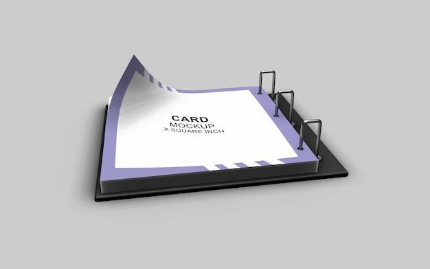 Netjes en schoon eenvoudig ontworpen mooi kalendermodel