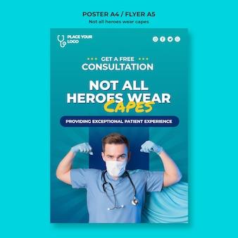Niet alle helden dragen een capes-concept