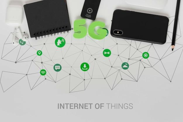 Nieuwe apparaten moderne wifi-instellingen