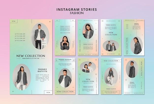Nieuwe collectie instagramverhalen