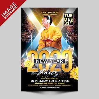 Nieuwjaar 2020 flyer