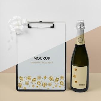 Nieuwjaar concept mock-up