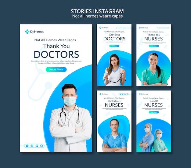 No todos los héroes son historias de instagram de capas