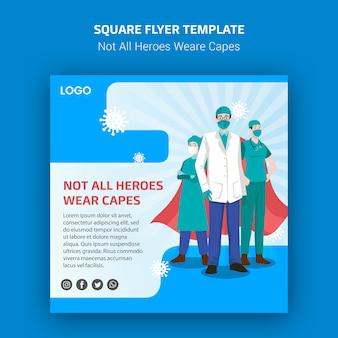No todos los héroes usan folletos de capas