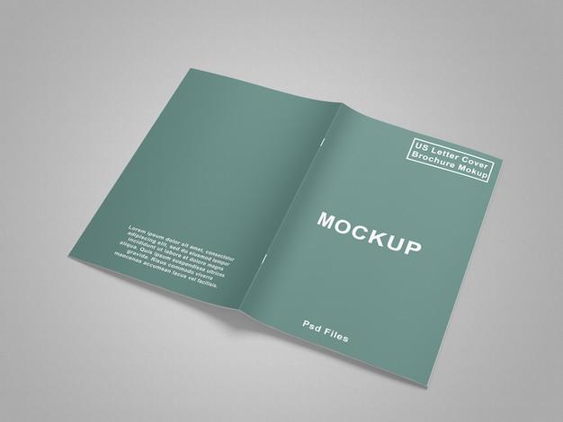 Noi lettera rivista / brochure mockup