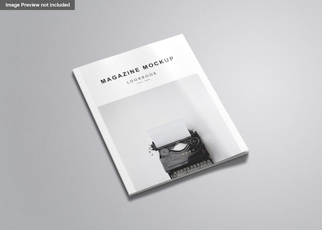 Noi rivista di lettere mockup