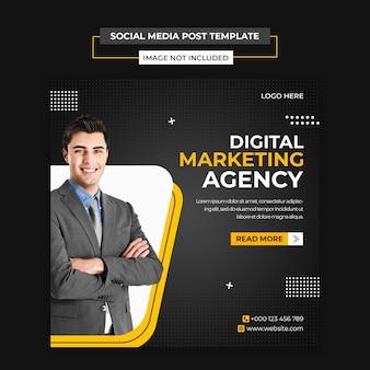 Noleggio auto social media e modello di post instagram