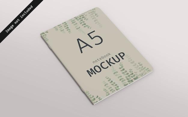 Notebook mockup linkeraanzicht