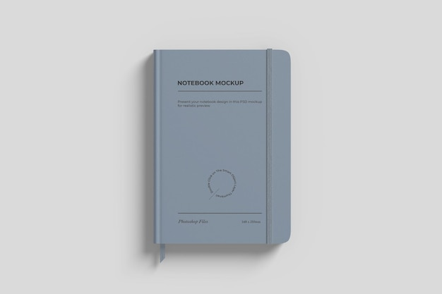 Notebook mockup met lint