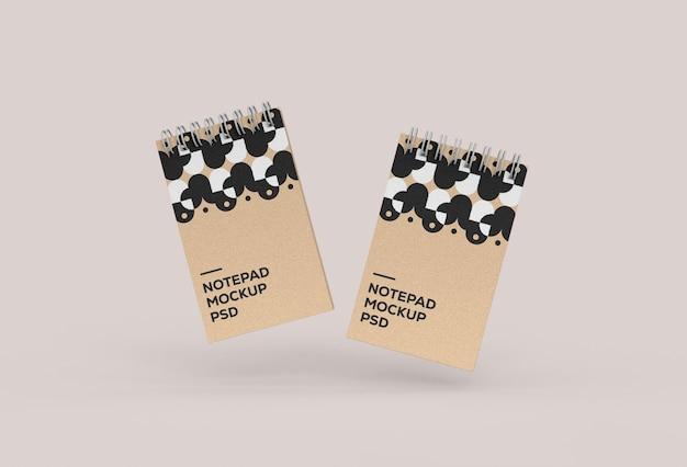 Notebookmodel met decoratief patroon