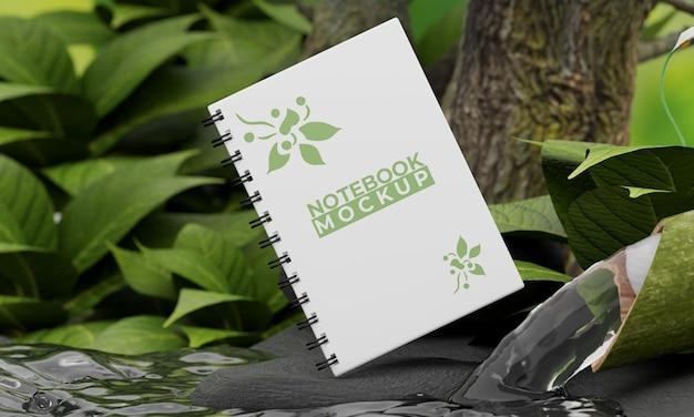 Notebookmodel met natuurconcept