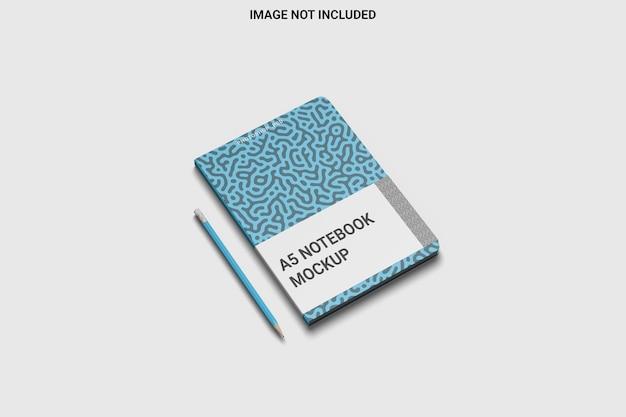 Notitieboekje met ronde hoek links