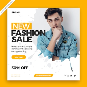 Nuevo banner de venta de moda