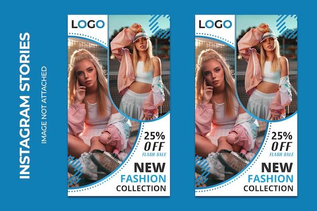 Nuevos banners web sociales de moda premium