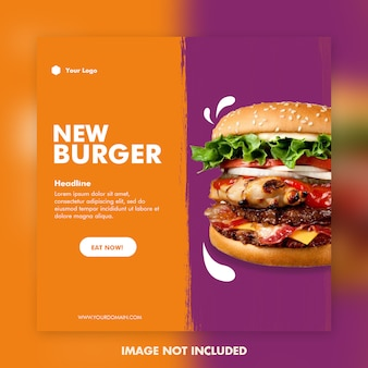 Nuovo banner di hamburger