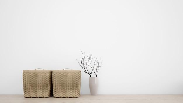 Objetos decorativos de interior para un estilo minimalista.