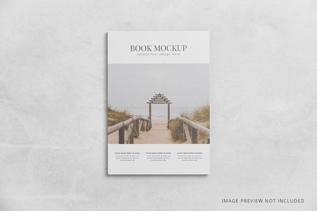 Omslagboek mockup