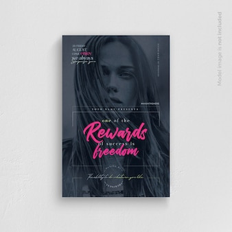 On of the rewards of success è freedom flyer template
