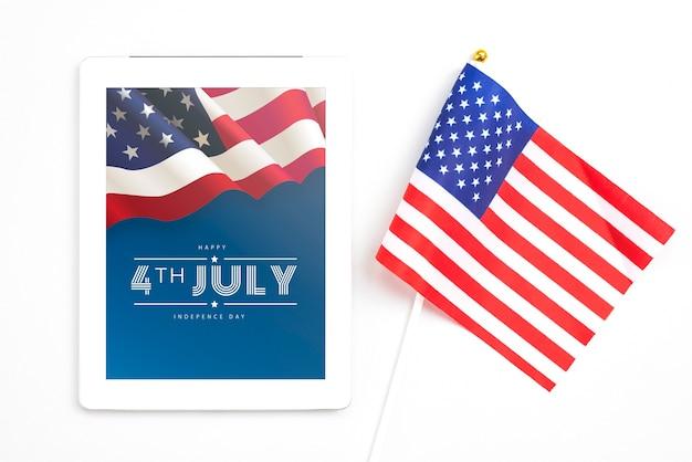 Onafhankelijkheidsdag in de verenigde staten van amerika. 4 juli