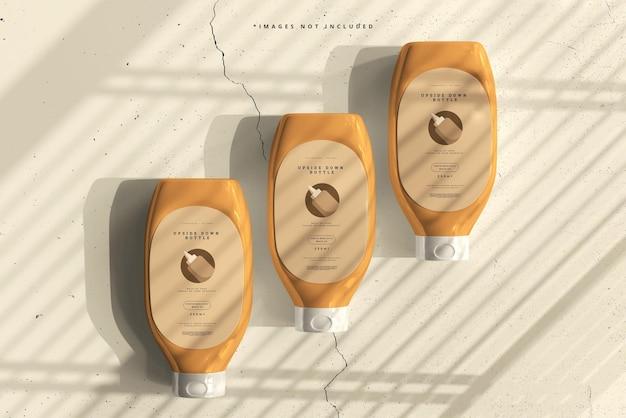 Ondersteboven flessenmodel