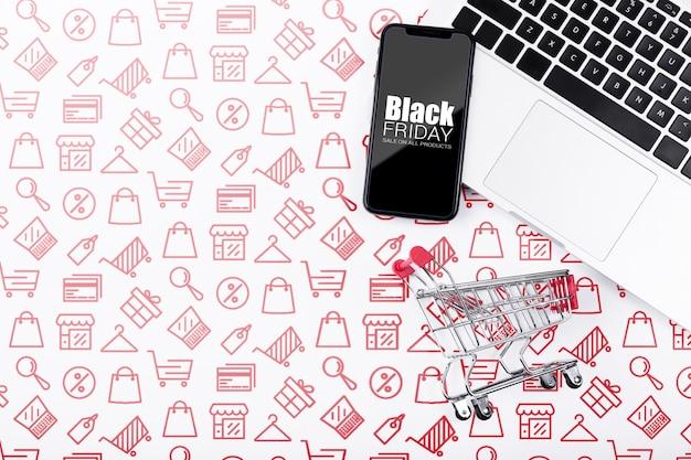 Online campagne op zwarte vrijdag