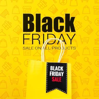 Online campagne voor zwarte vrijdag verkoop