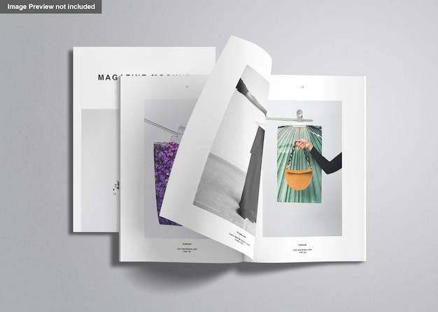 Ons brievenmagazine mockup