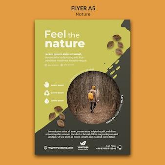 Ontspan met de natuur a5 flyer