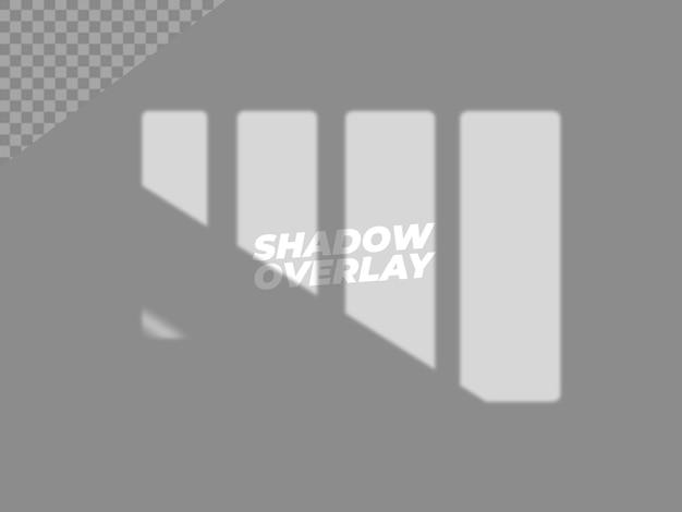 Ontwerp met schaduwoverlay-effect