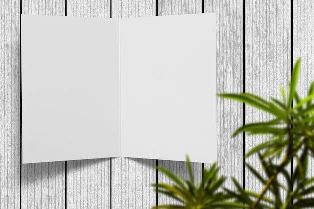 Ontwerp voor een papieren wenskaart