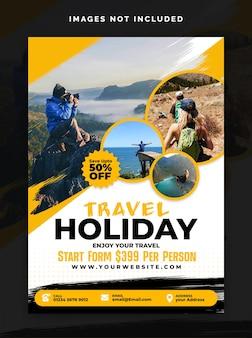 Ontwerp voor reisvakanties