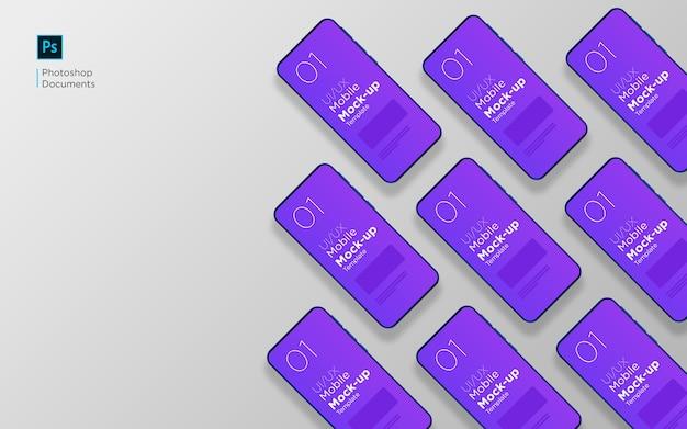 Ontwerpsjabloon voor meerdere schermen