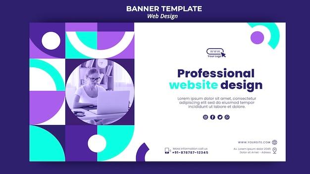 Ontwerpsjabloon voor professionele website-bestemmingspagina