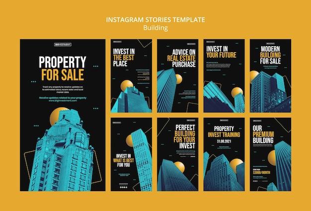 Ontwerpsjabloon voor verkoop van gebouwen