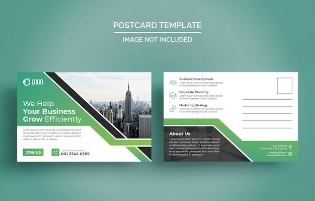 Ontwerpsjabloon voor zakelijke ansichtkaarten