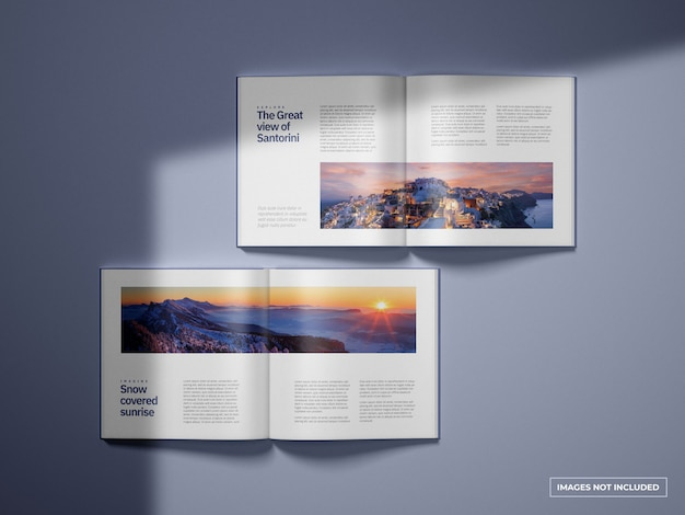 Open vierkant catalogi-mockup
