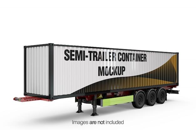 Opleggercontainermodel