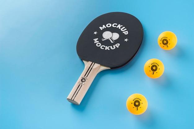 Opstelling van mock-up sportelementen