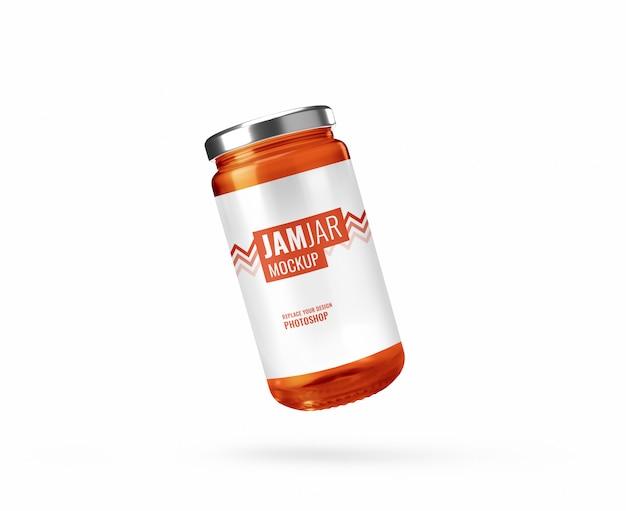 Oranje jampot reclamemodel