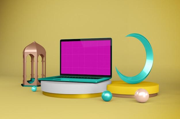 Ordenador portátil ramadán