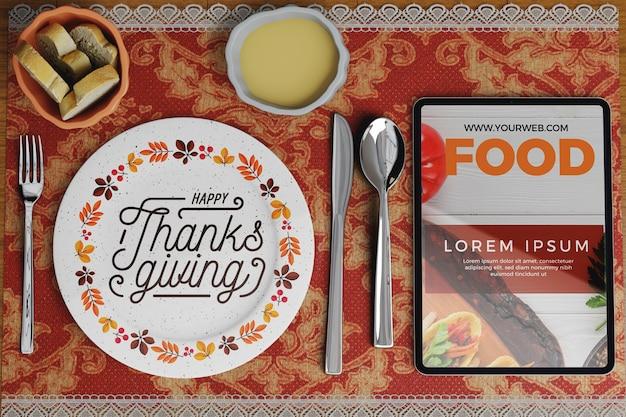 Organizzazione del ristorante nel giorno del ringraziamento