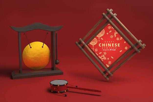 Ornamenti decorativi cinesi di nuovo anno