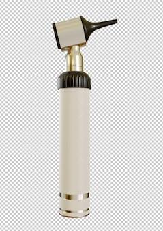 Otoscoop is medische apparatuur die wordt gebruikt om de binnenkant van het oor te observeren.
