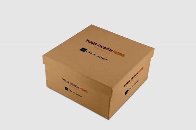 Pacchetto della scatola mock up