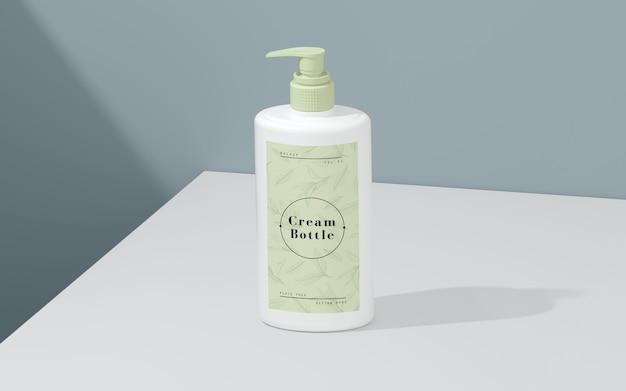 Packaging verde de productos cosméticos
