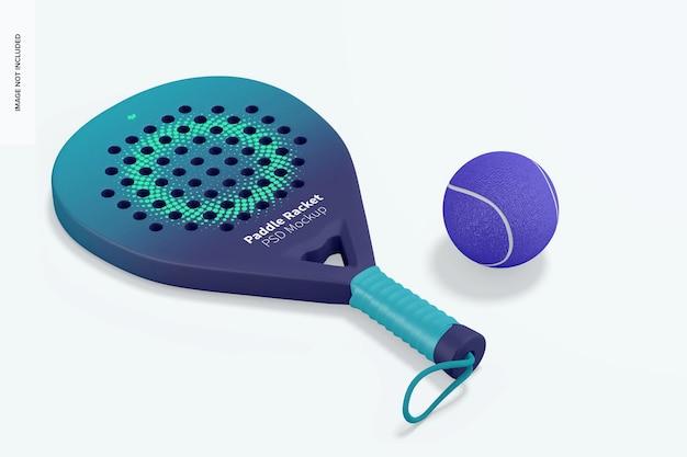 Paddle-racketmodel