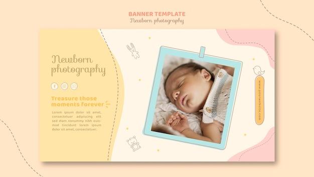 Página de destino del bebé soñoliento
