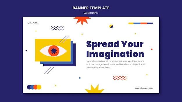 Página de inicio de imaginación geométrica
